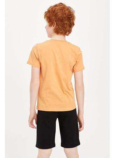 DeFacto Pijama Takım Oranj